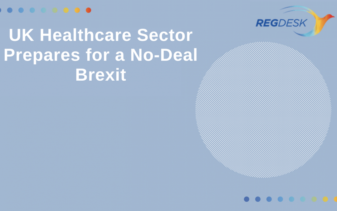 UK Healthcare Sector Prepares for No-Deal Brexit