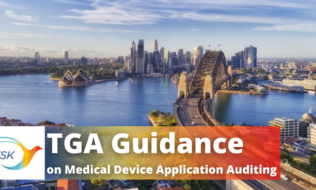 TGA Guidance on Auditing of Medical Device Applications