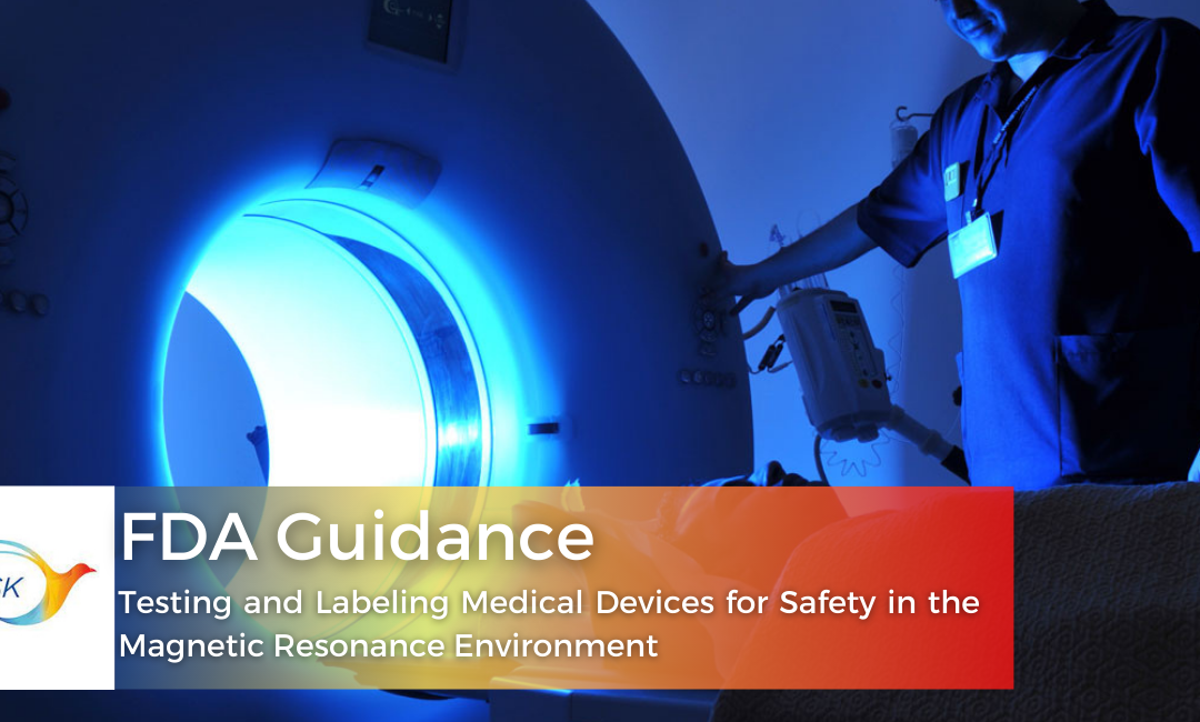FDA Guidance on Testing and Labelling Medical Devices for Safety in the Magnetic Resonance Environment