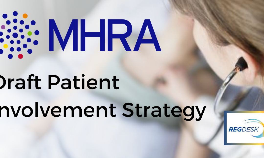 MHRA Draft Patient Involvement Strategy