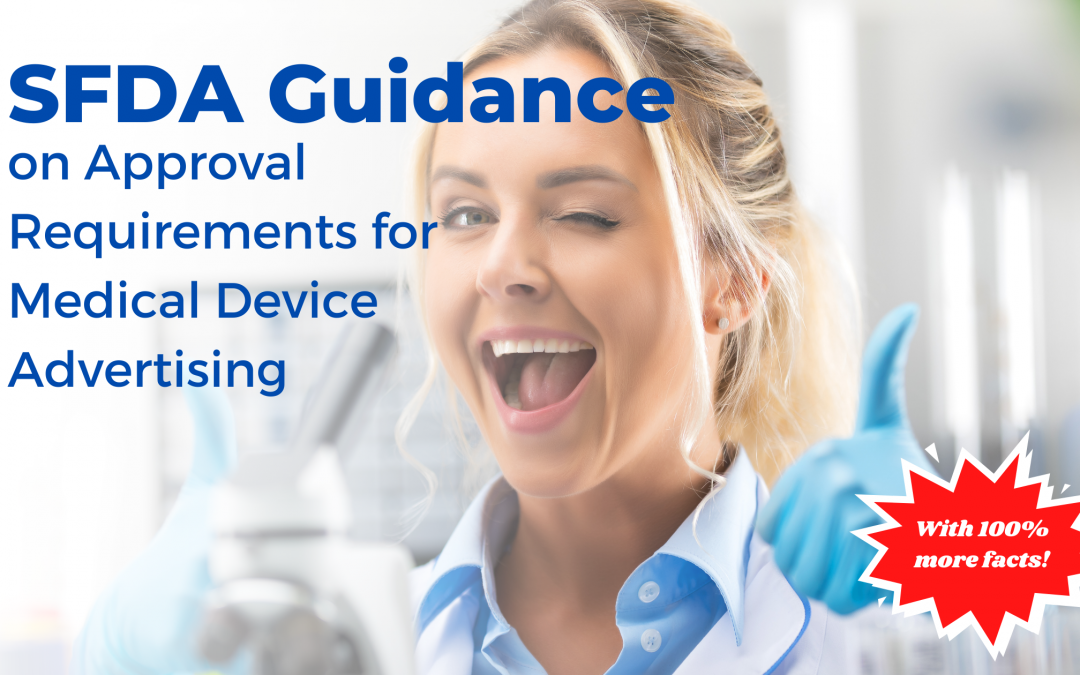 SFDA Guidance on Approval Requirements for Medical Device Advertising