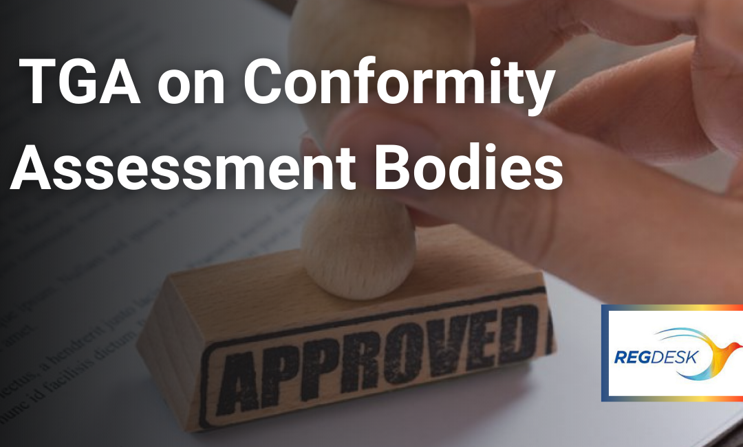 TGA on Conformity Assessment Bodies