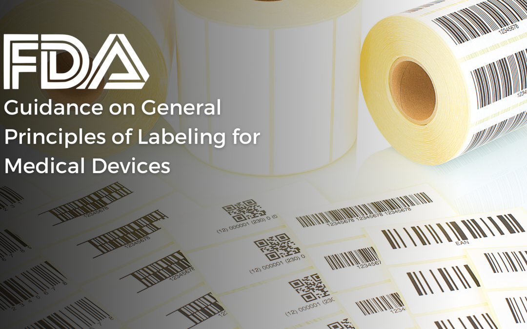FDA on General Principles of Labeling for Medical Devices