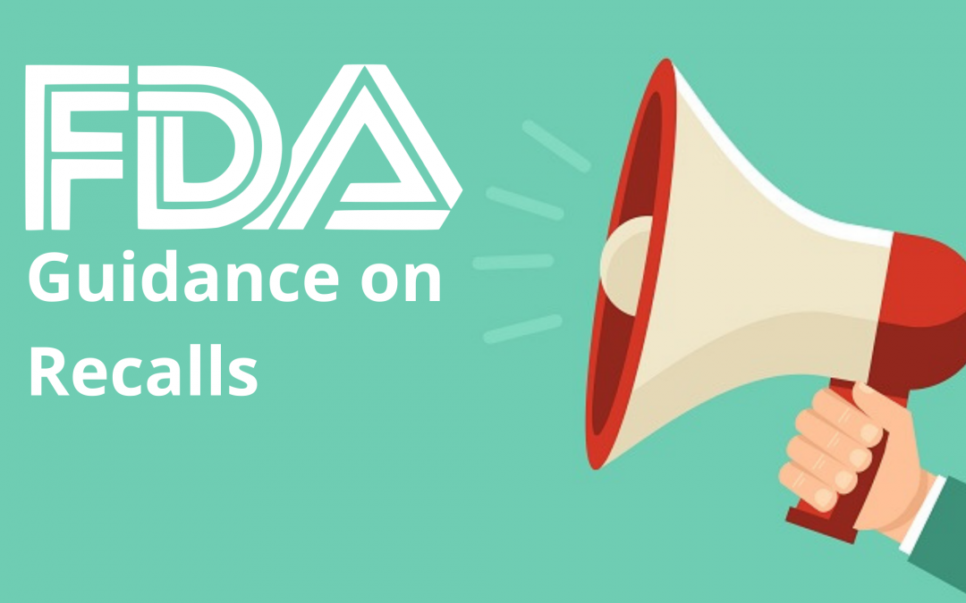 FDA Guidance on Recalls