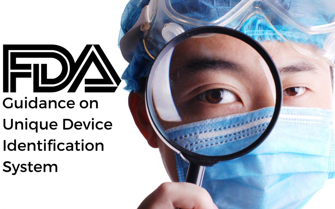 FDA Guidance on Unique Device Identification System