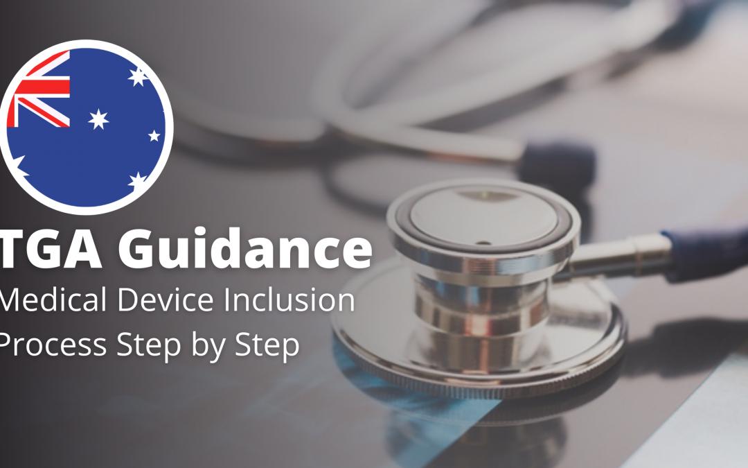 TGA Guidance on ARTG Registration Step by Step