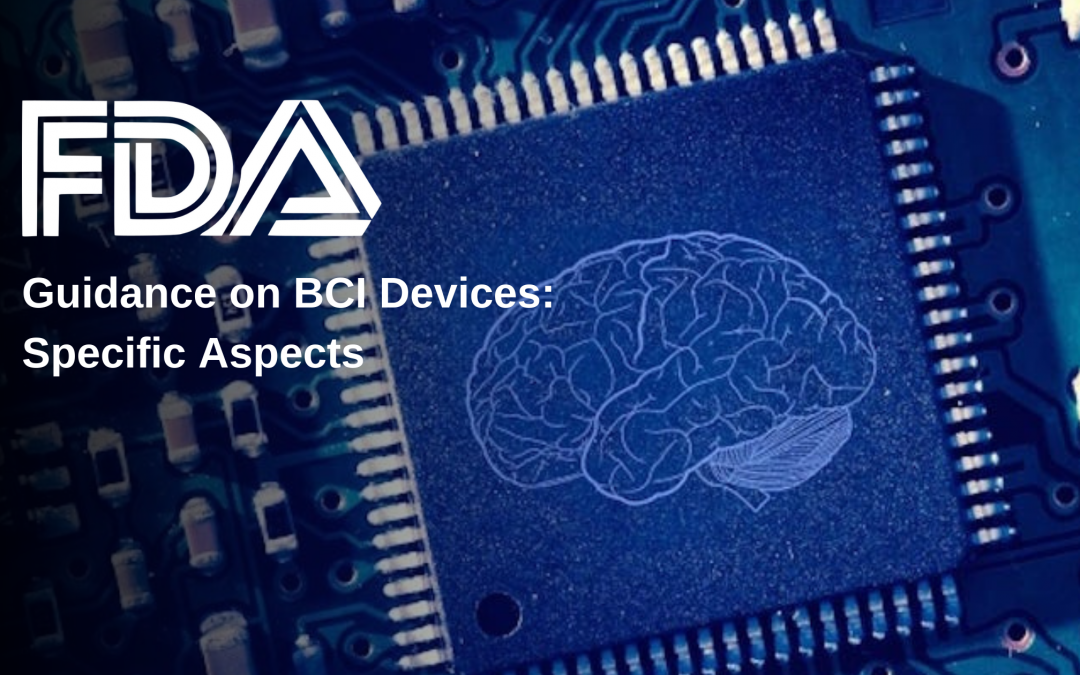FDA Guidance on BCI Devices: Specific Aspects