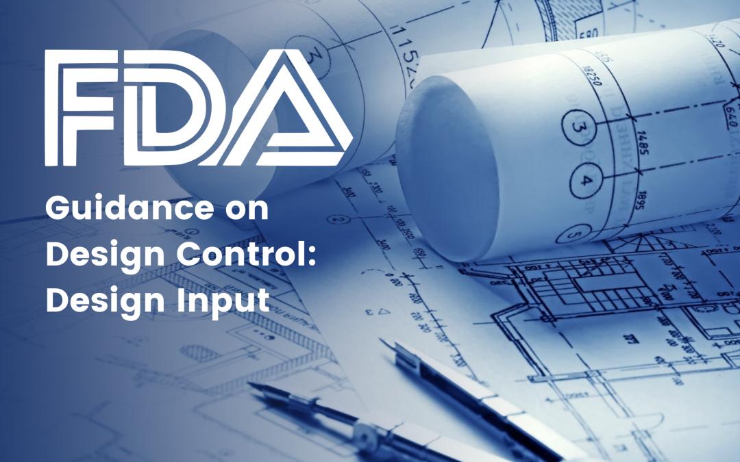 FDA Guidance on Design Control: Design Input