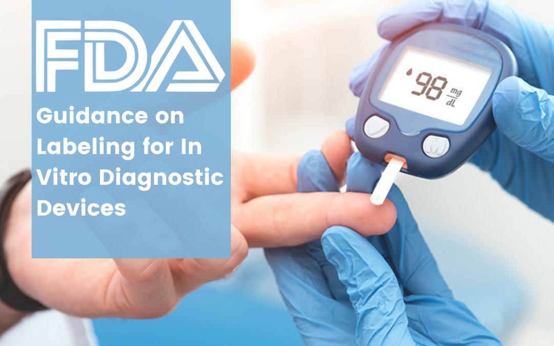FDA Guidance on Labeling for In Vitro Diagnostic Devices
