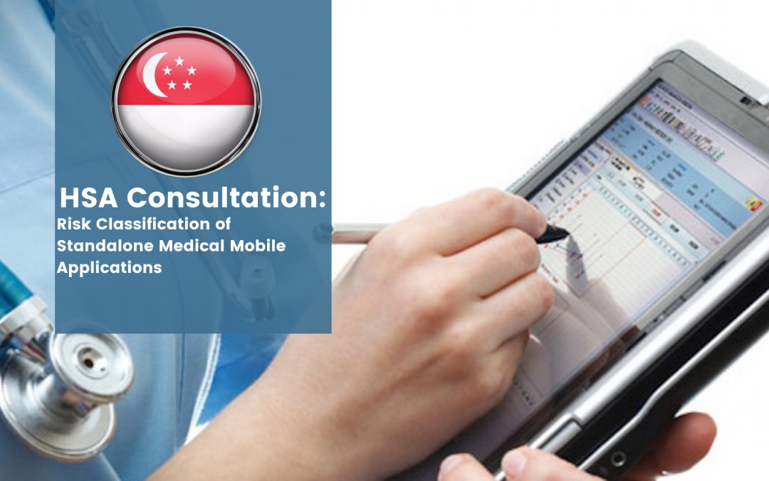 HSA Consultation on Risk Classification of Standalone Medical Mobile Applications (SaMD)