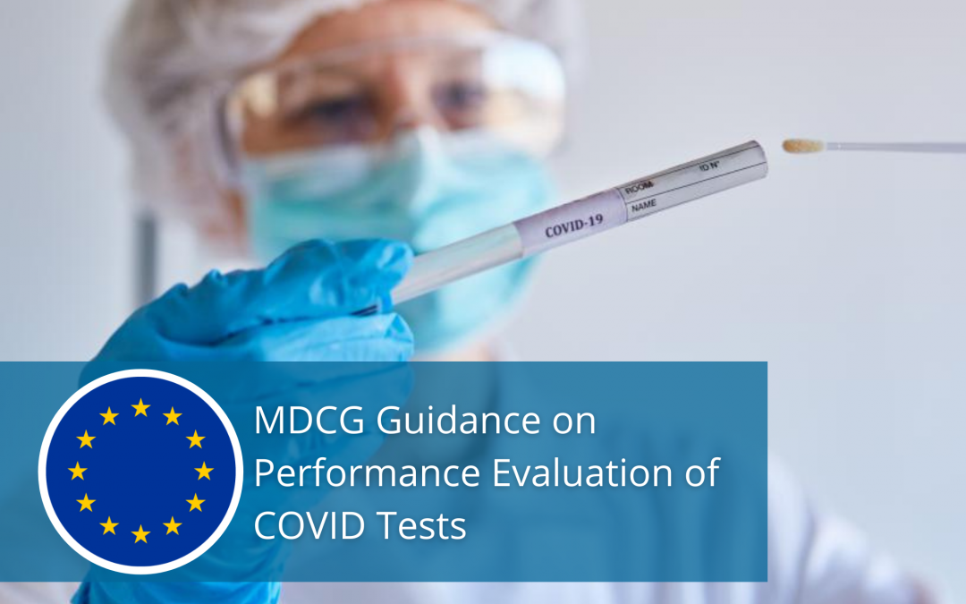 MDCG Guidance on Performance Evaluation of COVID Tests