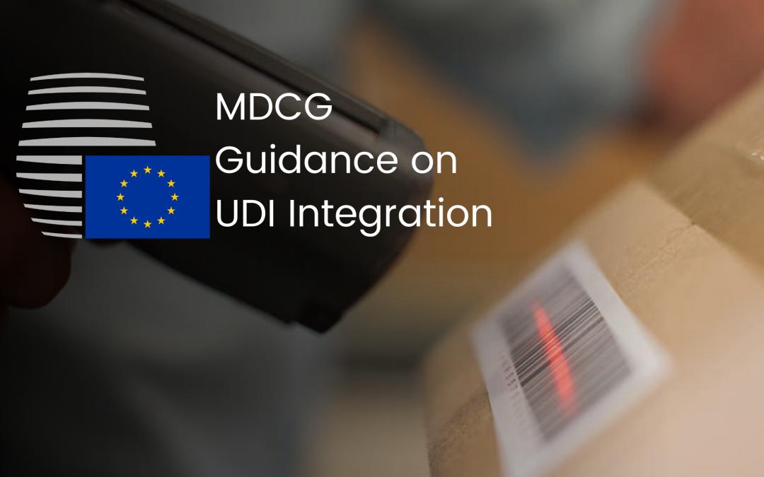 MDCG Guidance on UDI Integration