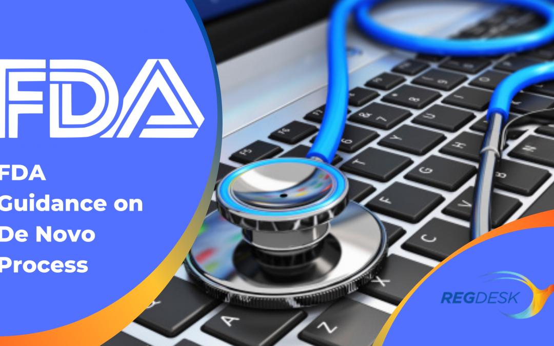 FDA Guidance on De Novo Process: Submissions