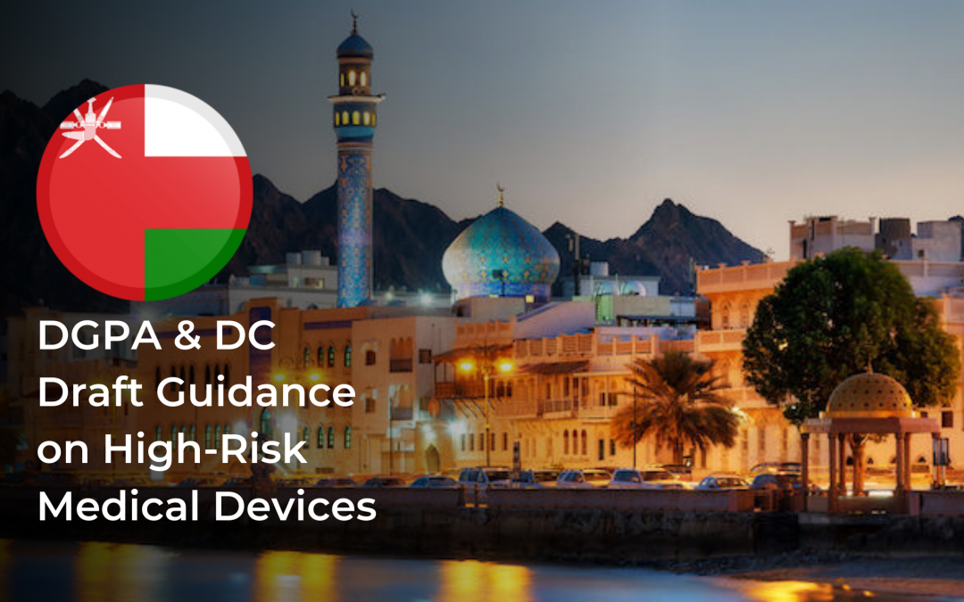 DGPA & DC Draft Guidance on High-Risk Medical Devices