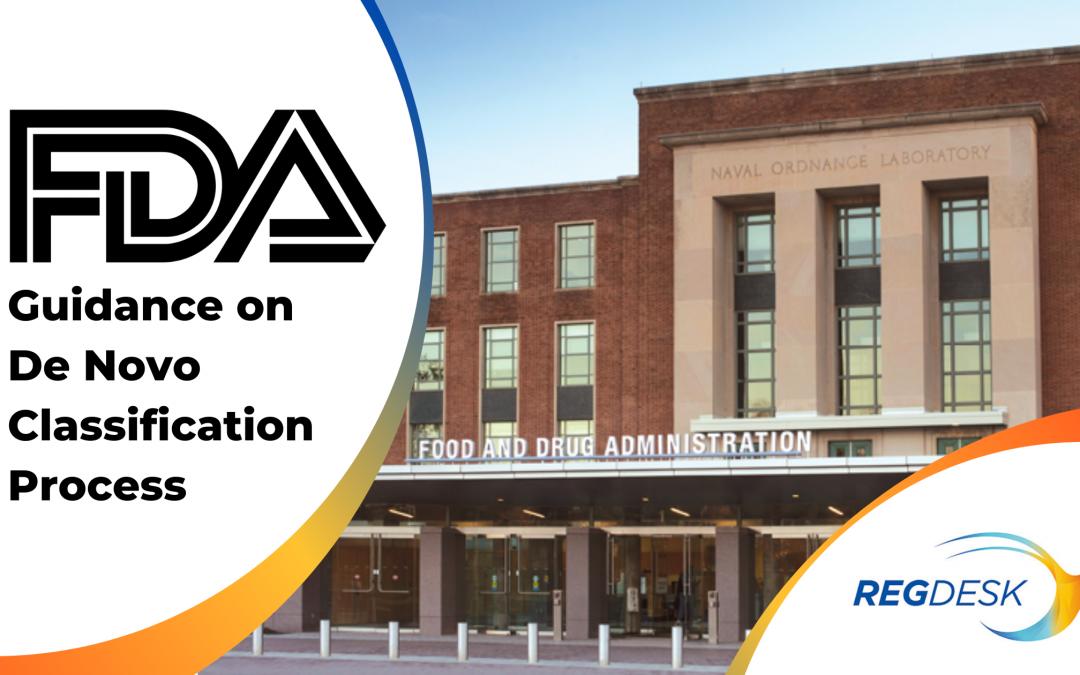 FDA Guidance on De Novo Classification Process